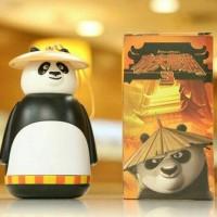 Jual Botol Minum Kaca Kungfu Panda Poo Tumbler Glass Murah