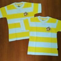 Harga kaos tshirt baju pakaian anak baby banana monkey belang strip   Pembandingharga.com