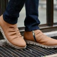 Sepatu Boots Pria Moofeat Ziper Best Seller