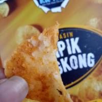 Jual Salted Egg Cassava Chips / Keripik Singkong Telor Asin Cemilan Murah