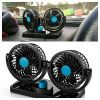 kipas angin mobil auto fan doubel /ac mobil lighter interior kaca car
