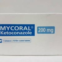 Mycoral 200mg/Ketoconazole tablet isi 50's