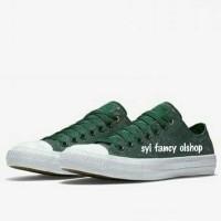 Sepatu Converse CT2 Reflective Wash Ox Amazon Green Original BNIB