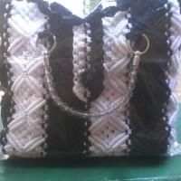 Tas fashion wanita dari tali kur