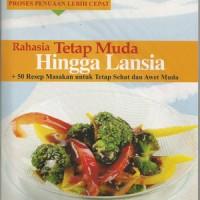 Buku 50 Resep Masakan Untuk Sehat dan Awet Muda