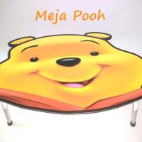 Meja Lipat Karakter Pooh (Bahan Multipleks bukan Particle Board)