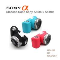 Jual Silicone Silikon Case Kamera Mirrorless Sony Alpha A5000 A5100 Murah