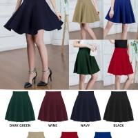 Jual Rok Mini Flare Pencil Jeans Maxi Skirt   Juliet Flare Skirt(#8803)/ Murah