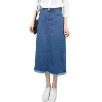 Jual Rok Mini Flare Pencil Jeans Maxi Skirt  Ariana Denim skirt(#6025)/Rok Murah