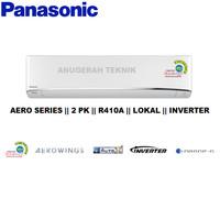 AC SPLIT PANASONIC 2 PK 2PK R410A AERO INVERTER - U18TKP
