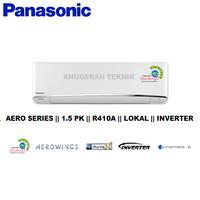 AC SPLIT PANASONIC 1.5 PK 1.5PK R410A AERO INVERTER - U13TKP