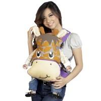 Jual Gendongan Bayi Snobby Ransel Double Fungsi Saku Print Giraffe TPG 1547 Murah