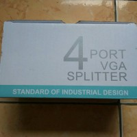 Vga Splitter 4 Port /Splitter 1-4