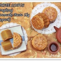 WHITE LOTUS-Hongkong-Mooncake Paste 1kg(Repack)
