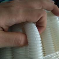 Selang Pembuangan air drain Ac outdoor 16mm spiral flexible 5/8 putih