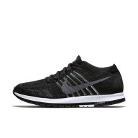 Sepatu Lari Nike Zoom Flyknit Streak Black White Original 835994-010