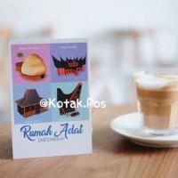 harga Rumah Adat Gadang Joglo Asmat Toraja Indonesia Khas Kartu Pos Postcard Tokopedia.com