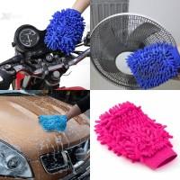 Jual Sarung Tangan Lap Microfiber Lap Mobil Perabot Fiber Car Wash Murah