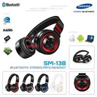Headphone Samsung SM-138 Support Bluetooth MP3-Player Radio Headset