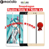 MOCOLO Tempered Glass Xiaomi Redmi Note 4 Snapdragon Full Curved
