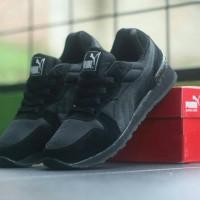FREE BONUS !!! Sepatu Casual Puma TX3 Vietnam Premium Men - Full Black