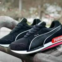 FREE BONUS !!! Sepatu Casual Puma TX-3 Vietnam Men - Full Black