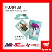 Jual Refill Film Instax Mini 7, 8, 9, 25, 50, 70, 90, Instax Share Sky Blue Murah
