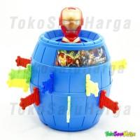Jual Mainan Anak Pirate Roulette Game Lucky Barrel Running  Avenger | Besar Murah