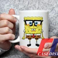 Gelas Mug Desain anak lucu SpongeBob SquarePants Nickelodeon