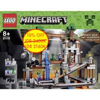 Lego 21118 Minecraft The Mine