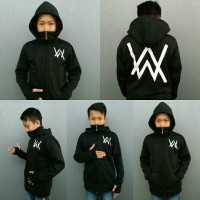 Jual sweater alan walker ninja anak/jaket sweater alan walker ninja/unisex Murah