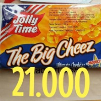 Jual Popcorn Jolly Time The Big Cheeze Keju Cheese Murah