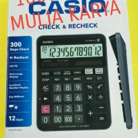 Calculator Casio DJ 120 D Plus Recheck Kalkulator