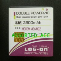 Baterai/battery Log On Double Power Smartfren Andromax Modem M3y/m3z