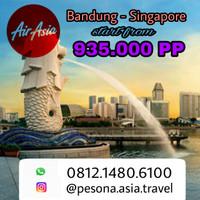 Tiket pesawat PROMO Air Asia Bandung Singapore