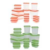 Jual IKEA PRUTA | FOOD CONTAINER SET ISI 17 Murah