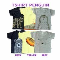 Jual Kazel Kaos Anak Motif Karakter Penguin ( 6PCS) Murah