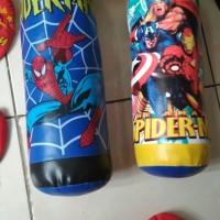 Jual Samsak dan Sepasang Sarung Tinju Anak Spiderman Avenger Murah