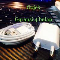 GARANSI+100% ORI APPLE (NO OEM) PAKET CHARGER+USB IPHONE 3gS|4|S|CDMA