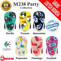 Mouse Wireless Logitech M238 Party Collection - L070
