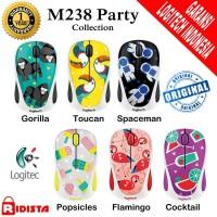 Jual Mouse Wireless Logitech M238 Party  Collection - L070 Murah