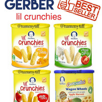 Gerber Lil Crunchies Garden Tomato