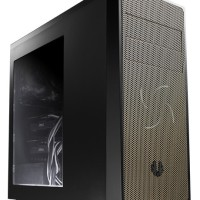 BitFenix Neos Window Black Gold Mid Tower ATX Gaming Case