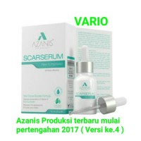 Azanis Scar Serum Formula Advance Baru (100% Original)