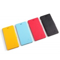 Nillkin Fresh Leather Flip Cover Flip Case Casing for Sony Xperia M