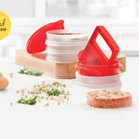 Alat Pembuat Ham Burger Tupperware Burger Press