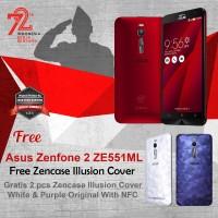 Jual Asus Zenfone 2 ZE551ML + Free 2 Zencase Illusion Cover RESMI Murah
