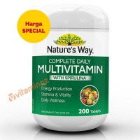 Nature's Way Multivitamin with Spirulina - 200 Tablet