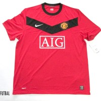 2009-2010 MANCHESTER UNITED HOME ORIGINAL JERSEY Size XL *BNWT*