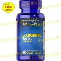 Puritan's Pride L-Arginine 500 mg - 100 Kapsul